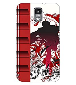 PrintDhaba Abstract Design D-3045 Back Case Cover for SAMSUNG GALAXY S5 (Multi-Coloured)