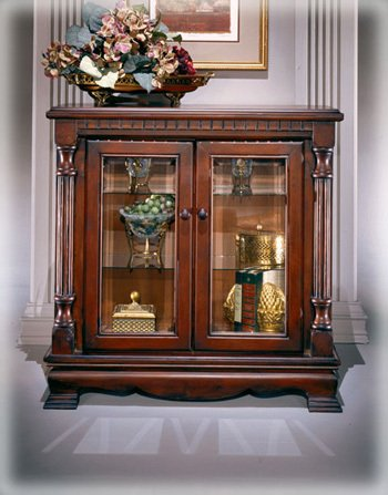 Curio Cabinet by Famous Brand Furniture