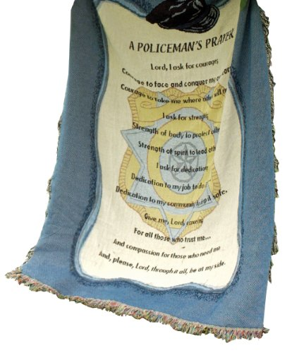 A Policeman/'s Prayer ~ Police Officer Tapestry Wall Hanging