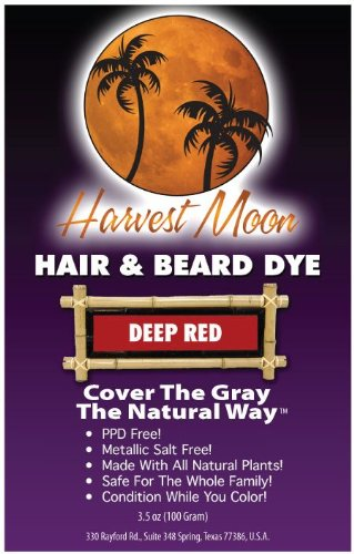 Deep Red Henna Hair Dye 100 Grams