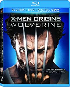 X-Men Origins: Wolverine [Blu-ray + DVD + Digital Copy]