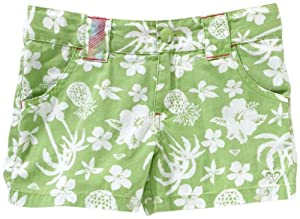 Roxy Hey Baby Childrens Shorts - 92/98, Green