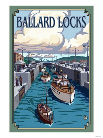 Ballard Locks and Boats