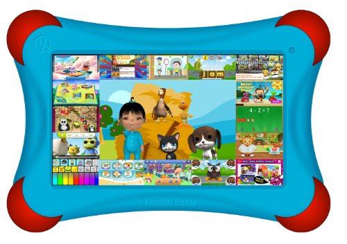 Visual Land Prestige Pro Famtab 8Gb 1.6Ghz Dual Core With Google Play And Safety Bumper (Blue) front-296755