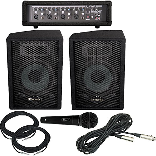 New Phonic Powerpod 410/S710 PA Package