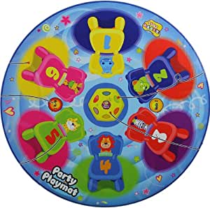 Musical Chairs Party Play Mat 48'' Diameter