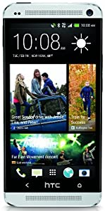 HTC One M7 32GB Unlocked GSM 4G LTE Android Cell Phone - Silver