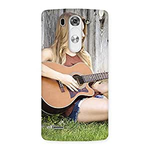 Special Girl Guitar Back Case Cover for LG G3 Mini