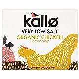 Kallo Organic Very Low Salt Chicken Stock Cubes (6x8g)