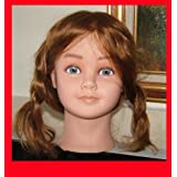 Mannequin Head Real Hair High Quality Little Girl