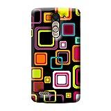 Garmor Seamless Colorful Design Plastic Back Cover For LG L Bello D335 (Seamless Colorful - 2)