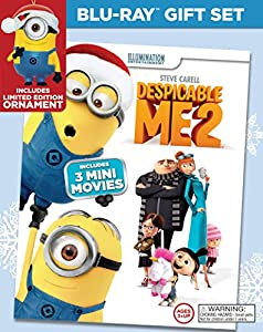 Despicable Me 2 Limited Edition Ornament Gift Set (Blu-ray + DVD + Digital HD) from Universal Studios