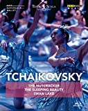 Tchaikovsky: The Nutcracker, The Sleeping Beauty & Swan Lake [Blu-ray]