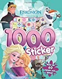 Disney Eiskönigin - 1000 Sticker: mit mehr als 60 Rätseln und Ausmalbilder