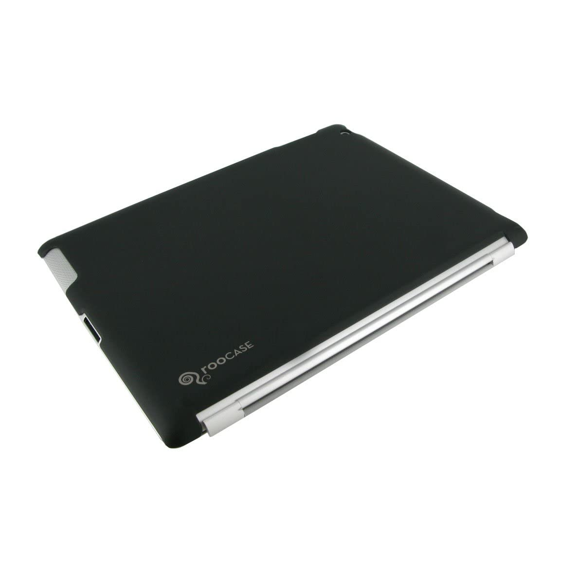 rooCASE Slim-Fit Companion Case for iPad 2 - Black