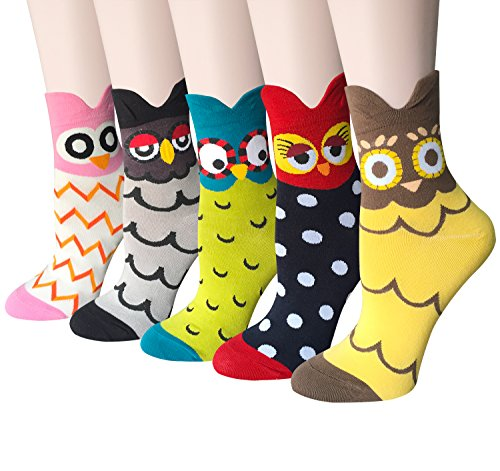 Cute Animal Cotton Girls Socks