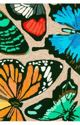 Front Porch Rug - Butterfly Dance
