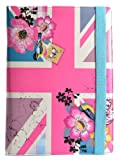 Accessorize Fashion Universal Folio Case Cover with Built-In Stand for 10 Inch Tablet Compatible with iPad 2/3/4, iPad with Retina display, Samsung Galaxy Tab 2 10.1, Tab 3 10.1 and Note 10.1, Google Nexus 10 and Sony Xperia Tablet Z - Union Jack
