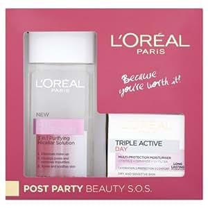 L'Oreal Paris Post Party Beauty S.O.S.