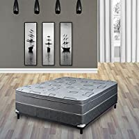 "Beautiful Rest Foam Encased 10"" Eurotop Pillowtop Medium Plush Mattress from Continental Sleep"
