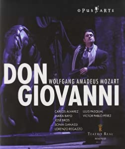 Mozart Don Giovanni Recorded Live At The Teatro Real Madrid October 2005 Blu-ray from Opus arte