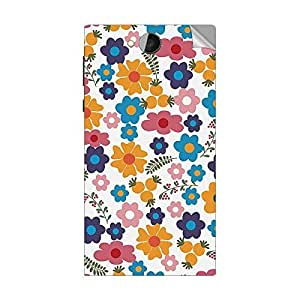 Garmor Designer Mobile Skin Sticker For LG L80- Mobile Sticker