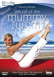 how to get rid of post pregnancy tummy