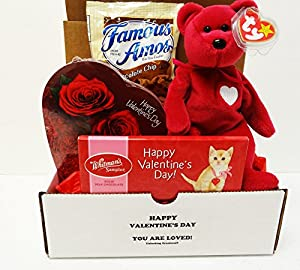 Unlocking Greatness You Are LOVED Ty Beanie Baby Valentine Gift Baskets (Valentina)