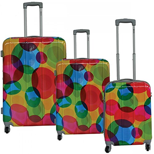 mcbrine-luggage-lightweight-hardside-3-piece-luggage-set-circle-pattern-print