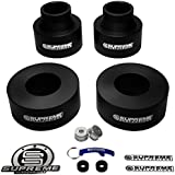 "Supreme Suspensions - Grand Cherokee Lift Kit 2.5"" Front + 2.5"" Rear Suspension Lift (Black) PRO"