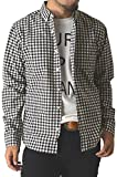 (リミテッドセレクト) LIMITED SELECT チェック柄シャツ メンズ シャツ ボタンダウンシャツ 長袖シャツ ギンガム マドラス ウインドペン ストライプ 大きいサイズ / 1A0334 / 4L / G 7柄