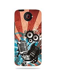 casemirchi creative designed mobile case cover for HTC One X / HTC One X designer case cover (MKD10008)