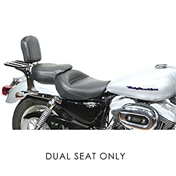 Mustang Vintage Wide Sport Touring 1-Piece Seat for Harley Davidson 2004-15 Spo