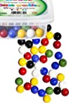 Chinese Checkers Glass Marbles, Set o...