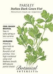 Parsley Italian Flat Leaf Certified Organic Seeds