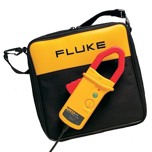 Fluke AC / DC Current Clamp with Soft Carry Case, Fits all Fluke Multi Meters i410-Kit