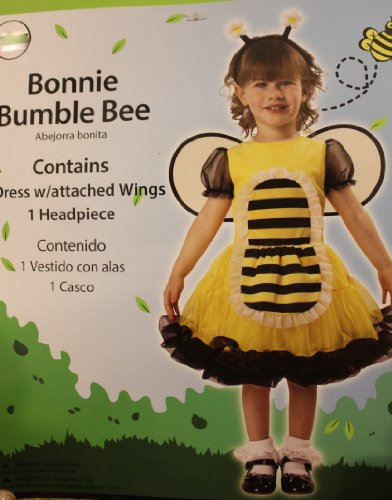 BONNIE BUMBLE BEE COSTUME - 3T / 4T