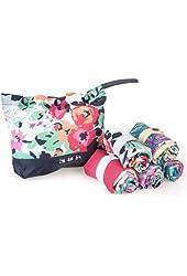 Envirosax Garden Party Reusable Bags, set of 5
