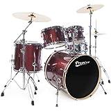 Premier Drums APK Wrap Birch Series 6429944SRW 5-Piece Drum Set, Solar Red Sparkle