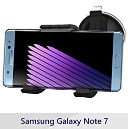 Galaxy Note 7 Car Mount, Ultra-Grip Easy Dock Vehicle Kit - Windshield Dashboard Cradle (Encased® Lifetime Warranty) (Note 7)