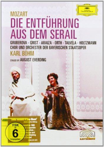 Mozart - Die Entfuhrung Aus Dem Serail (Bohm, Gruberova) [DVD] [2005]