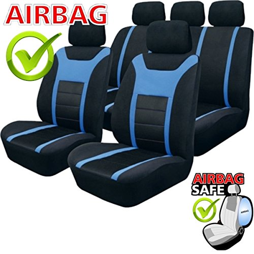 sb203 housse de si ge set auto protecteur de si ge couvre si ge voiture avec airbag lat ra. Black Bedroom Furniture Sets. Home Design Ideas