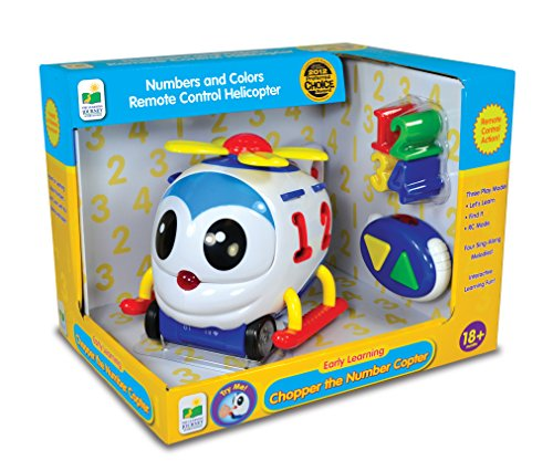 The Learning Journey Chopper the Number Remote Control Shape Sorter Copter - 1