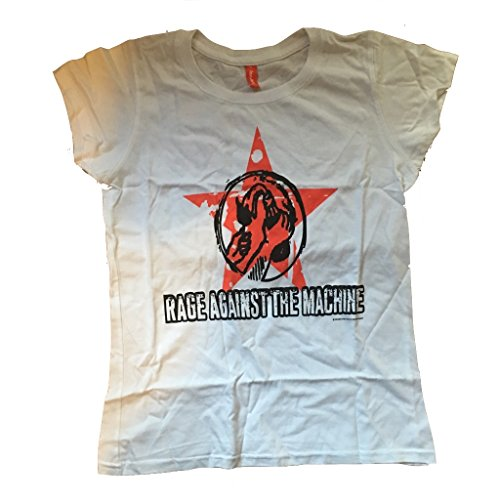 RAGE AGAINST THE MACHINE - MOLOTOV STAR - OFFICIAL WOMENS T SHIRT