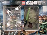 Lego Star Wars Game With Yoda Plush - Nintendo Wii