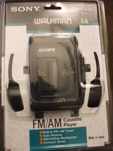 Sony Radio Cassette Player WM-FX30 Auto Reverse Walkman FM/AM