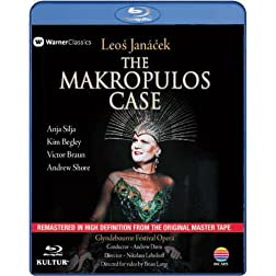 The Makropulos Case - Leos Janacek [Blu-ray]