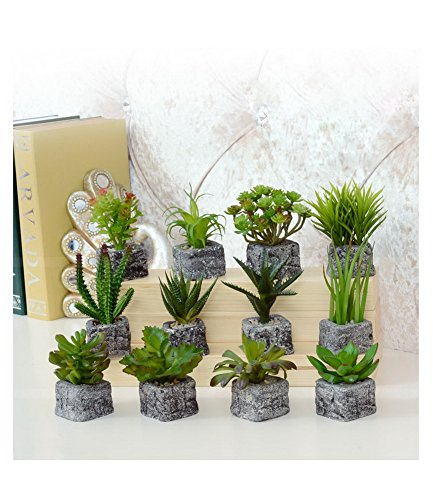 The Artificial Miniature Potted Plant Home Decoration [L]