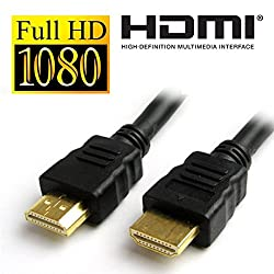 Tara Vision CT-98386 3 Meter HDMI Male to Male Gold Plated Cable - Black