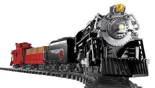LIONEL SANTA FE READY-TO-RUN G-GAUGE TRAIN SET